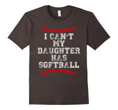 Machine wash cold with like colors, dry low heat Are you a Softball Mom or Softball Dad? Is your Daughter a Softball Catcher or Softball Pitcher? Softball Mom Shirts, Softball Quotes, Softball Pictures, Girls Softball, Dad To Be Shirts, Sports Shirts, Softball Jerseys, Softball Gifts, Softball Stuff