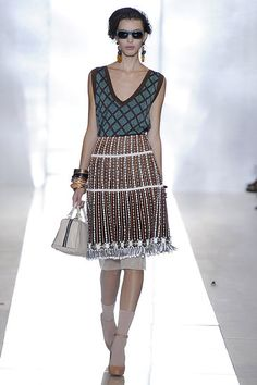 A really pretty embellished look from Marni S/S 2012