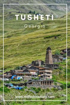 Tusheti National Park lies on the slopes of the Caucasus Mountains and is one of the most ecologically pure regions. It's also a UNESCO World Heritage Site