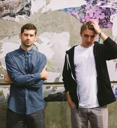 ODESZA - an American electronic music duo from Seattle consisting of Harrison Mills and Clayton Knight.