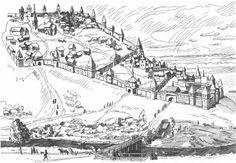 Medieval Castle Coloring Pages Click On The Image For A PDF Version Which Is Easy To Print Or