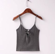 b3ad963aa5 Sexy Metal eyelets lacing up Camis 2016 New bralette bustier crop Top  Camisetas Strappy Bra Tank. Lace Up Tank TopStrapless ...