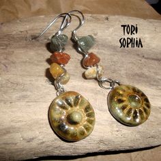 TORI SOPHIA Designs with handmade ceramic charms by Shelley Graham Turner