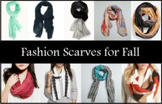 Fashion Scarves for Fall