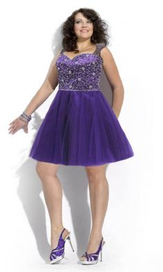 Organza A-line Straps Short Formal Dresses FSAU1409P800908 - formalsydney.com