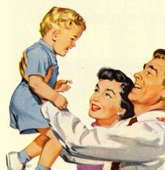 Bringing Up Baby! ~ Woman's Day, February 1952