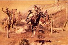 charlie russell paintings | Charles M Russell paintings prints reproductions