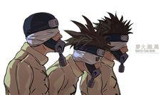 NARUTO- Team Oboro by fisher903