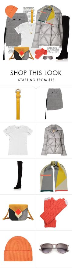 """""""Stay Warm: Puffer Coats"""" by ysmn-pan ❤ liked on Polyvore featuring Bill Blass, Marissa Webb, FAY, Berylune, Pierre Hardy, Topman, Ray-Ban, Louis Vuitton, contest and puffercoats"""