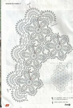 View album on Yandex. Japanese Crochet Patterns, Crochet Diagram, Views Album, Doilies, Beautiful, Towels, Crochet Stitches Chart, Crochet Chart, Crochet Patterns