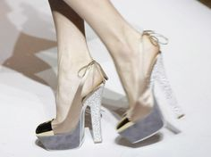 I'm in love! YSL has THE most gorgeous shoes. Hands down.