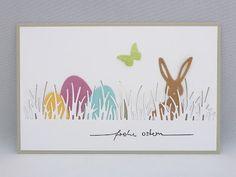 Alexandra Renke Meadow and Rabbit d. Alexandra Renke Meadow and Rabbit dies; Stampin' Up! Scrapbooking, Scrapbook Paper Crafts, Scrapbook Cards, Paper Crafting, Easter Art, Easter Crafts, Stampin Up, Cardmaking And Papercraft, Watercolor Cards