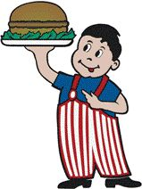 Hi-Boy Burger DriveIn, Independence, MO.  Kitty-korner to Dixon's Chili