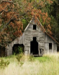 ...well used country farm barn. I'd love to hear the stories this barn has!
