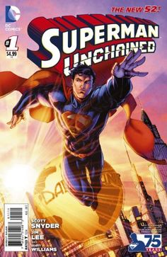 "Superman Unchained #1 ""Brett Booth  Variant"" by S.SNYDER Available From West Point Toy & Hobby on Amazon #Superman"