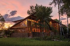 Complex Montana Glass Home Embedded in a Dreamlike Natural Landscape - http://www.homesdecors.com/complex-montana-glass-home-embedded-in-a-dreamlike-natural-landscape