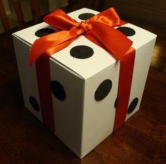 Decora una caja con aspecto de dado - IMujer