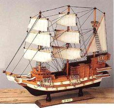 Galeon San Mateo - Maquetas de modelos de barcos antiguos y Veleros de epoca.