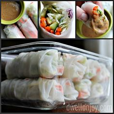 Spring Roll tutorial