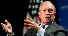 New York City Mayor Michael Bloomberg speaks to the Economic Club of Washington.   AP Photo