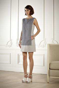 Rachel Roy Resort 2013 Fashion Show - Olya Zueva Simple Dresses, Pretty Dresses, Casual Dresses, Fashion Dresses, Summer Dresses, Rachel Roy, Shift Dresses, Batik Fashion, Batik Dress