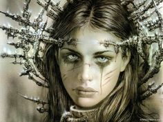 paint, erotic, fantasy, more from this author>> http://3rd-art.blogspot.com.es/2013/12/luis-royo-1954.html