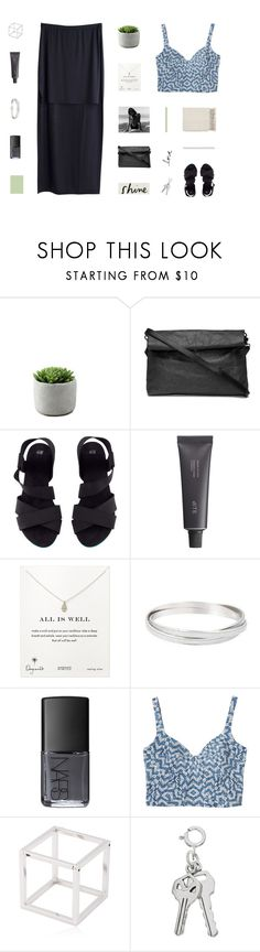 """""""city lights"""" by made-of-starlight ❤ liked on Polyvore featuring H&M, MTWTFSS Weekday, Bite, Dogeared, NARS Cosmetics, Monki, Caterina Zangrando and Surya"""