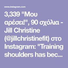 """3,339 """"Μου αρέσει!"""", 90 σχόλια - Jill Christine (@jillchristinefit) στο Instagram: """"Training shoulders has become one of my favorites over the last year. Using the cable machine is…"""""""