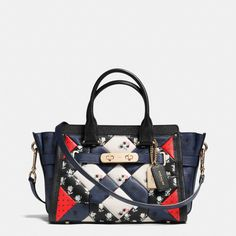 COACH - COACH SWAGGER 27 CARRYALL IN PRINTED PATCHWORK LEATHER