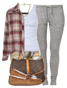 """""""967"""" by tuhlayjuh ❤ liked on Polyvore featuring NIKE, Tusnelda Bloch, Forever 21, Jamie Wolf, Nixon, Louis Vuitton and UGG Australia"""