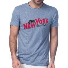 Scorp Graphics New York Baskılı Erkek Tişört