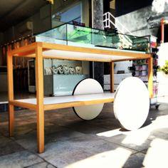 Jewellery shop mobile display