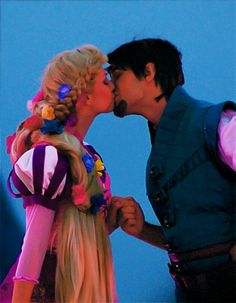 Rapunzel and Eugene. I like it how the actors make the chemistry feel real but sadly some dont (Sally and Rapunzel in DL I will make sure next time I go back to meet the Sally & Rapunzel that I just adore the chemistry when they are with Jack and Eugene)