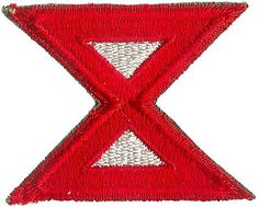 10th ARMY PATCH (WORLD WAR II) REPRODUCTION