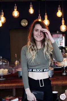 Wildcat clothing: From the gym to a night out - Trigger Dream Spice Things Up, Coffee Shop, Night Out, Style Fashion, Fashion Inspiration, Lights, Casual, How To Wear, Shirts
