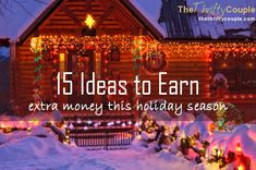 15 ideas to earn extra money this holiday season