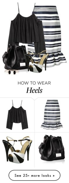 """Untitled #5308"" by barbarapoole on Polyvore featuring RED Valentino and gx by Gwen Stefani"