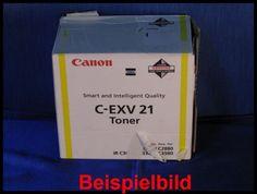 Canon C-EXV21 Toner Yellow 0455B002    Foto vom Tonershop www.baseline-toner.de  Zur Nutzung für private Auktionen z.B. bei Ebay. Gewerbliche Nutzung von Mitbewerbern nicht gestattet.  Toner kann auch uns unter www.wir-kaufen-toner.de angeboten werden.