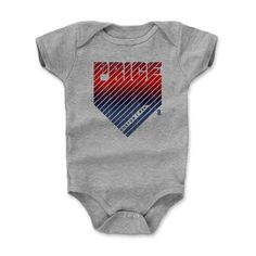 Kids Mariano Rivera Home B Onesie from 500 LEVEL. This Mariano Rivera Onesie comes in multiple sizes and colors. Bryant Home, Kyle Schwarber, Chicago C, David Price, Neckline Designs, Newborn Care, Onesies, Infant, Mens Fashion