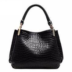 Leather bolsas femininas Women bag ladies Pattern Handbag Shoulder Bag Female Tote