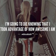 Are you gorgeous? Show it. Are you smart? Flaunt it. Are you amazing? Live it. Are you goofy? Use it. Don't apologize for how amazing you are!!! Take advantage of how brilliant you are !! Join the #Bossbabe Netwerk (Click The Link In Our Profile Now! )Follow @bossbabealex & @millennialrichgirl now for more inspo!