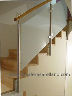 Barandilla de acero inoxidable para escaleras Plateado pasamanos para escaleras juego de barandilla con 2 postes Froadp barra interior terrazas balc/ón