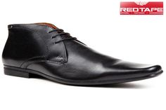 Red Tape Mens Formal Laced Black color Lendal Shoes at our best price ₹2845/- only.