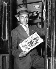 Court Orders End of Interstate Jim Crow Bus Seating: 1946