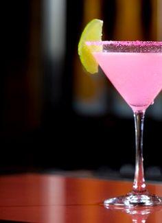 The Bradshaw {Sex & the City} Recipe ~ 1 oz. Don Julio Blanco Tequila + ½ oz. Passion Fruit Liqueur + ½ oz. Simple Syrup + ½ oz. Fresh Lime Juice