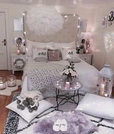 Teenage Bedroom Ideas For Girl Teenage Bedroom Ideas For Girl,Bedroom Awesome ideas to make your girls bedroom match their needs and dreams. Get inspiration for girl bedroom ideas, girl bedroom designs Related. Bedroom Decor For Teen Girls, Cute Bedroom Ideas, Teenage Girl Bedrooms, Girl Bedroom Designs, Tween Girls, Girl Decor, Bedroom Girls, Kids Bedroom Ideas For Girls Tween, Summer Bedroom