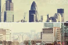 France et Londres ont une architecture très belle