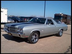 1970 Chevrolet El Camino SS-My all time favorite car!