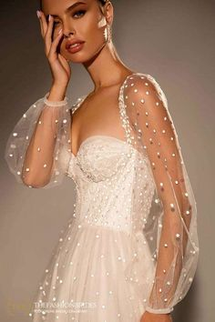 Wona Muse 2021 Spring Bridal Collection – The FashionBrides Alta Moda Bridal, Best Gowns, Haute Couture Designers, Zeina, Gowns With Sleeves, Wedding Looks, Designer Wedding Dresses, Bridal Collection, Bridal Gowns