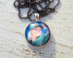 Oakland Athletics Sonny Gray Necklace, Oakland athletics necklace, A's baseball jewelry